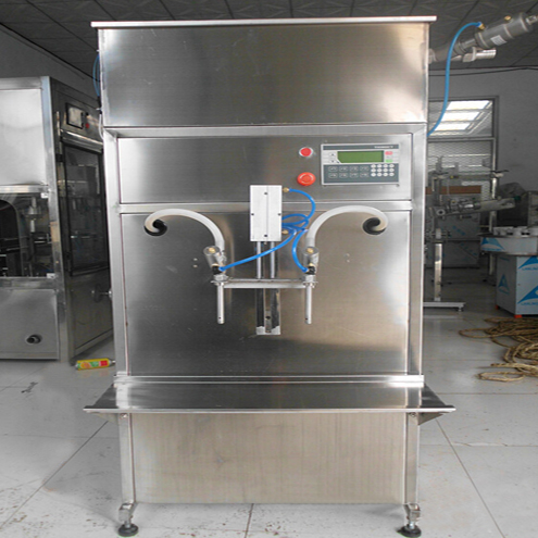 gravity filling machine semi automatic for thin liquid foamy materials double heads volumetric time filler equipment for pure water beverage