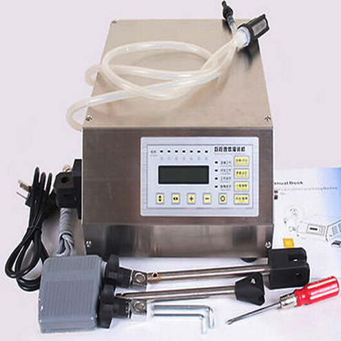 Numerical Control Liquid Filling Machine Semi automatic High Accuracy small filler equipment for foamy soap