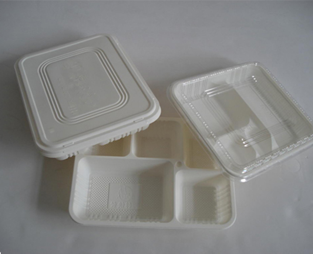 Manual tray box sealer machine fast food container sealing e