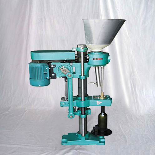 wine bottles corks closing sealing machine semi automatic stopper inserting capping packing machinery
