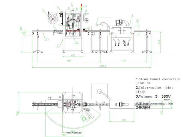 Drawing for model YX-SL200 SLEEVE labeller.jpg